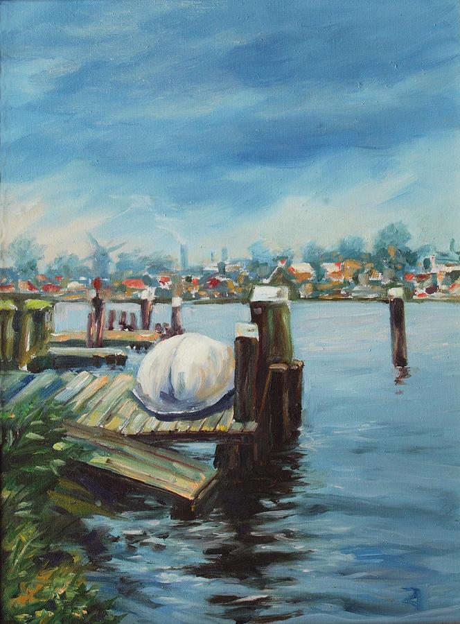 Water Painting - Zaandam by Rick Nederlof