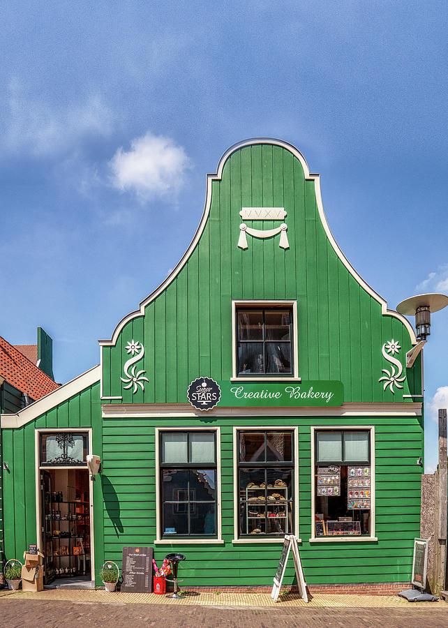 The Netherlands Photograph - Zaans Bakery by Framing Places
