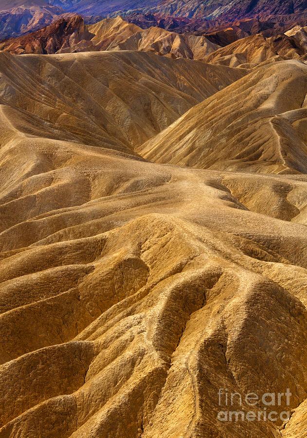 Hills Photograph - Zabriskie Morning by Mike  Dawson