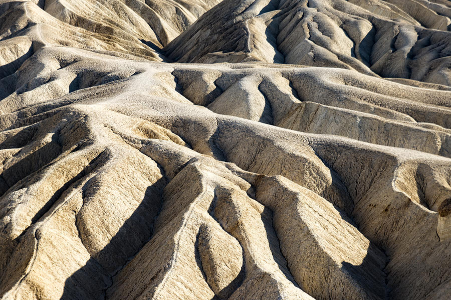 Zabriskie Point Badlands by Jim Moss