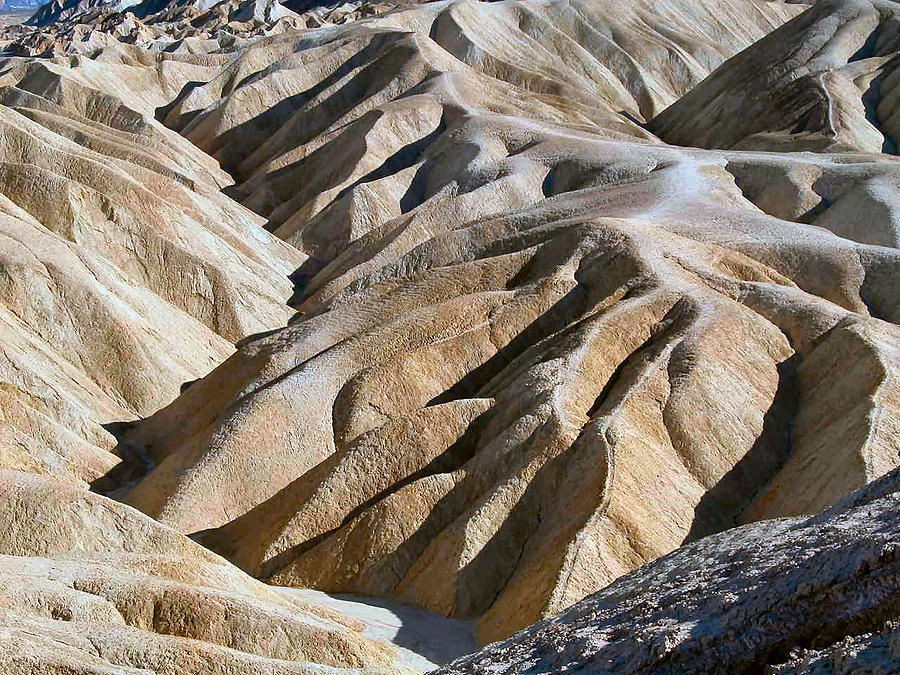 Nature Photograph - Zabriskie Point by William Thomas
