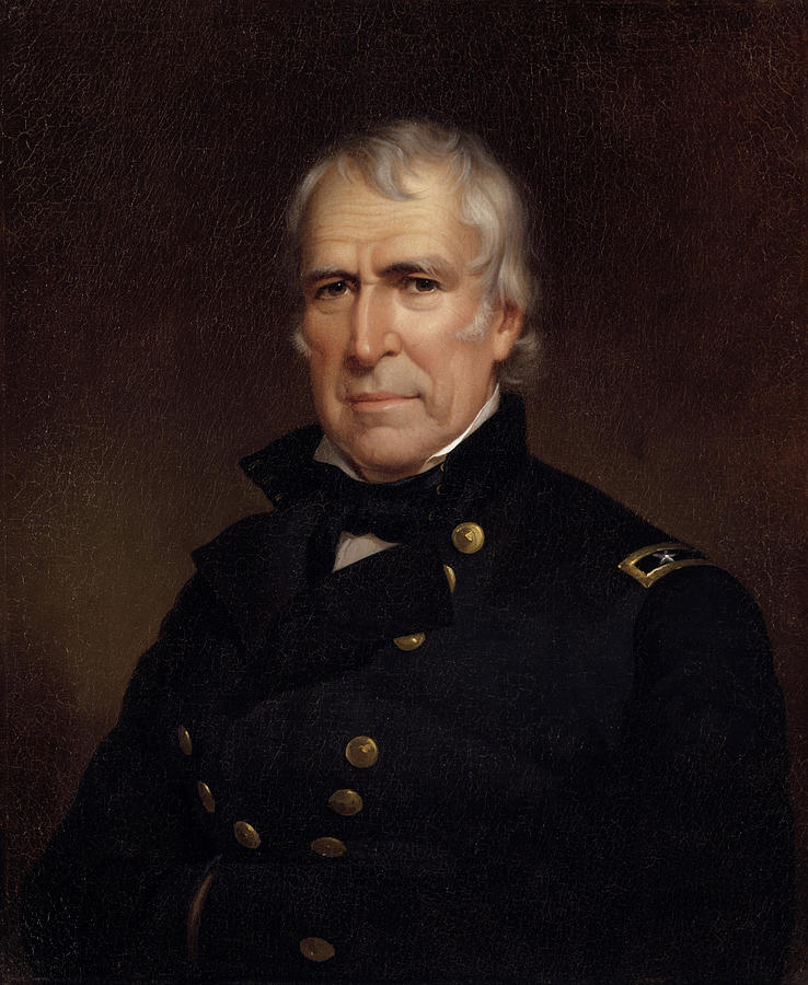 Zachary Taylor - Old Rough And Ready Painting