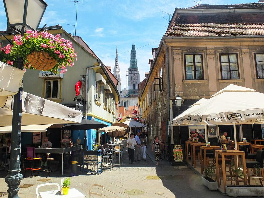 Zagreb Photograph - Zagreb City Croatia by Olga Kurygina