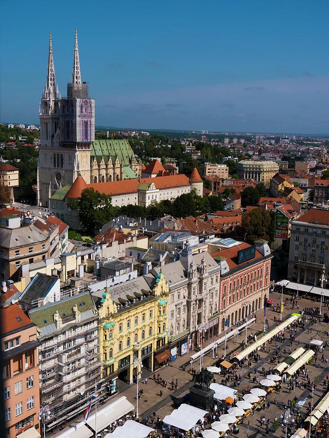 Zagreb Photograph - Zagreb by Rae Tucker