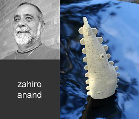 White Ceramic Art - Zahiro by Cunha Ceramica