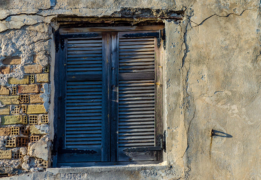 Zakynthos Town Window by Rainer Kersten