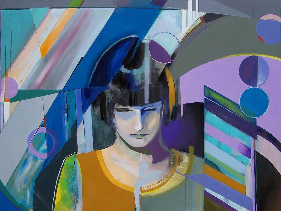 Girl Painting - Zan by Kaley LaRose
