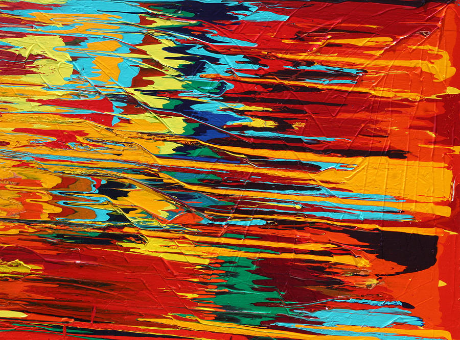 Abstract Painting - Zap by Ralph White