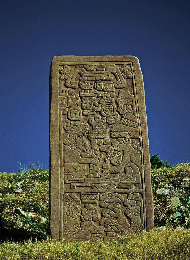 Central America Photograph - Zapotec History by Juergen Weiss