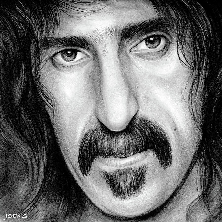 Zappa Drawing