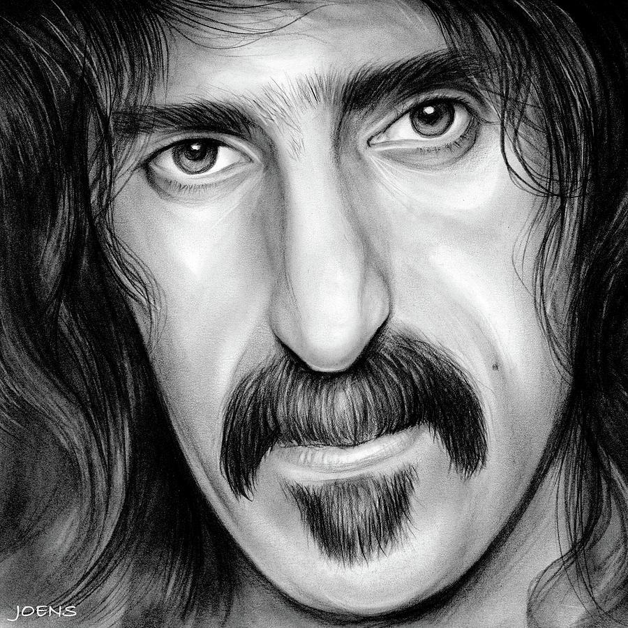 Zappa Drawing