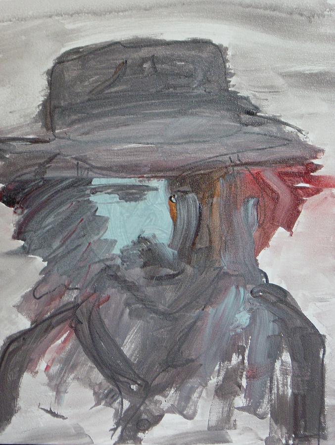 Frank Zappa Painting - Zappa Incognito by Gayland Morris