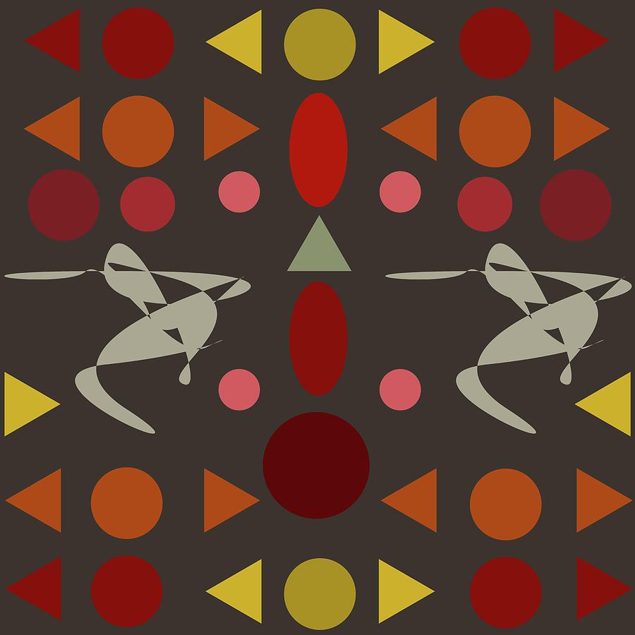 Dance Digital Art - Zappwaits Dance by Rolf Ebenau