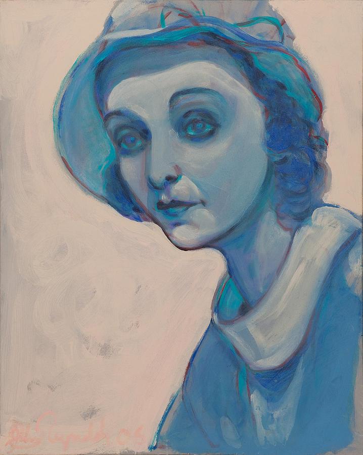 Zasu in Blue by John Reynolds