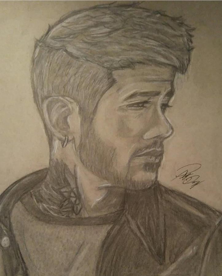 Zayn Malik Drawing By Phylicia Darcel