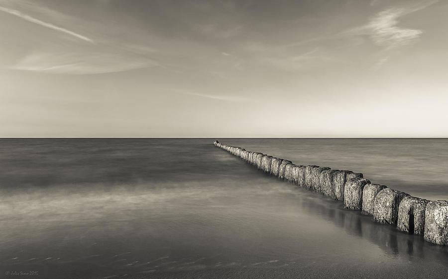 In The Mood Of Zen - Creamy Break In Photograph