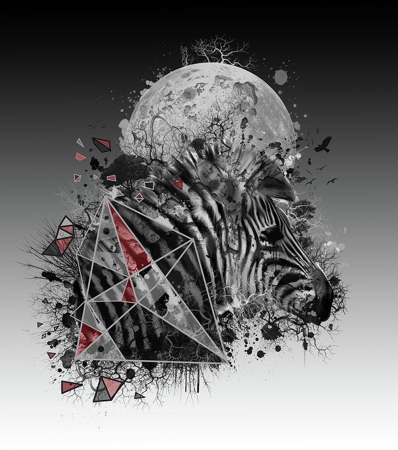 Zebra Digital Art