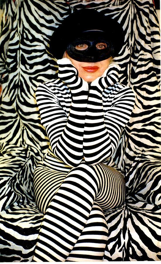 Zebra Girl Photograph by Frank Rozasy