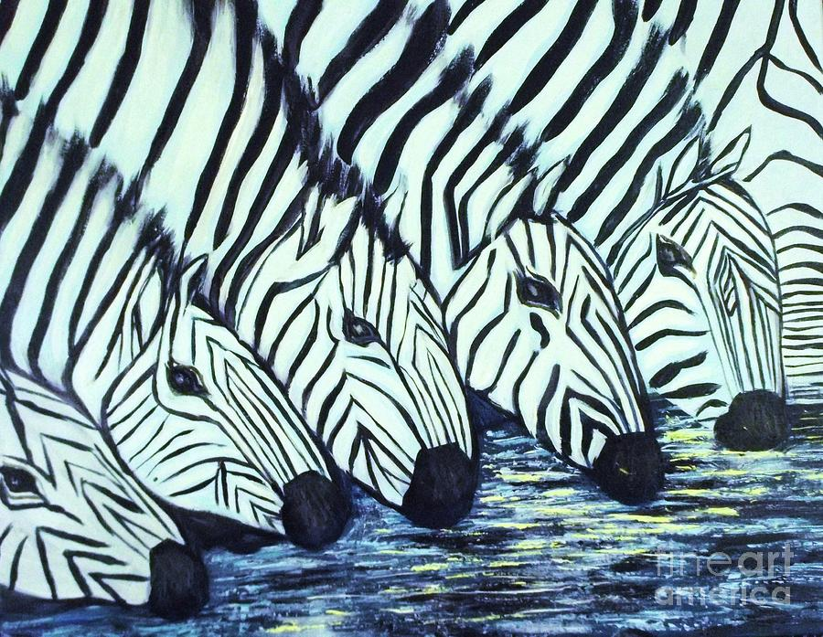 Zebra Line by Donna Dixon