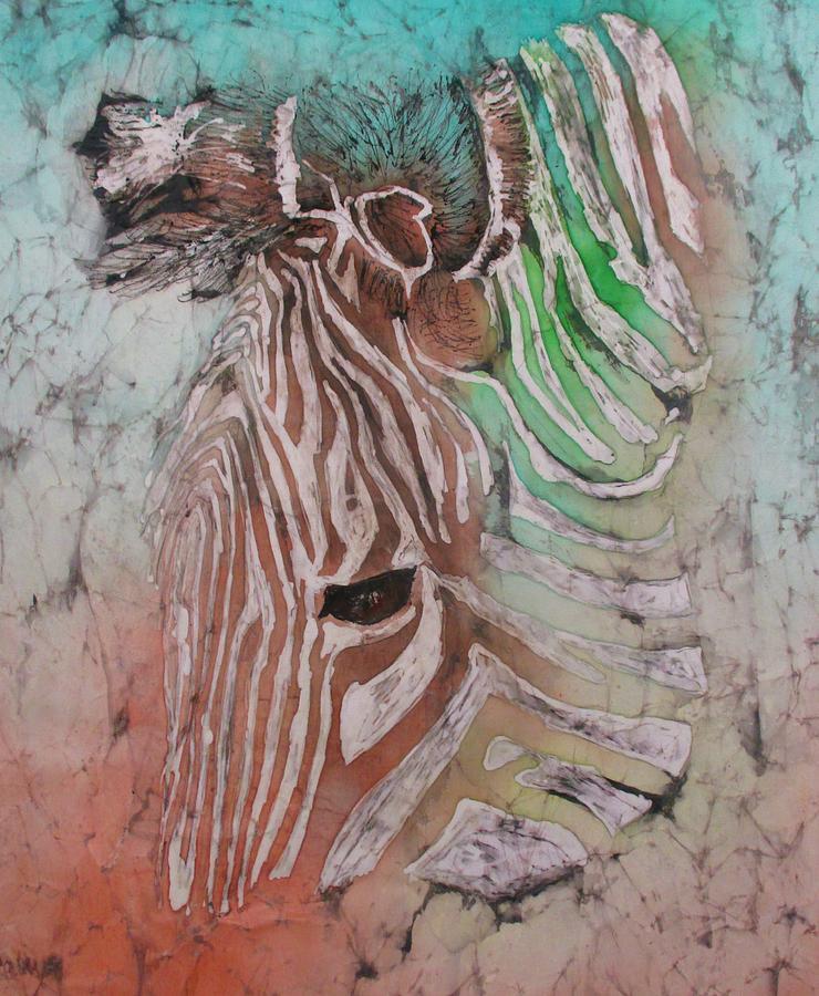 Zebra on Watch series 004 by Jennifer Raby
