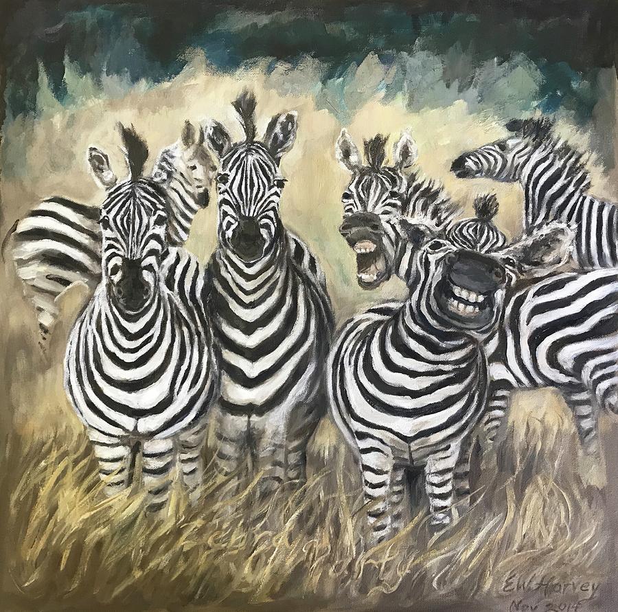 Zebra Party by Elisabeth Harvey