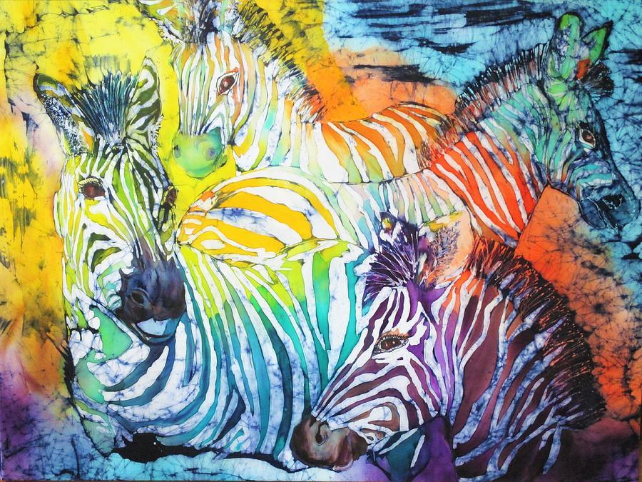 Zebras on Watch series 006 by Jennifer Raby