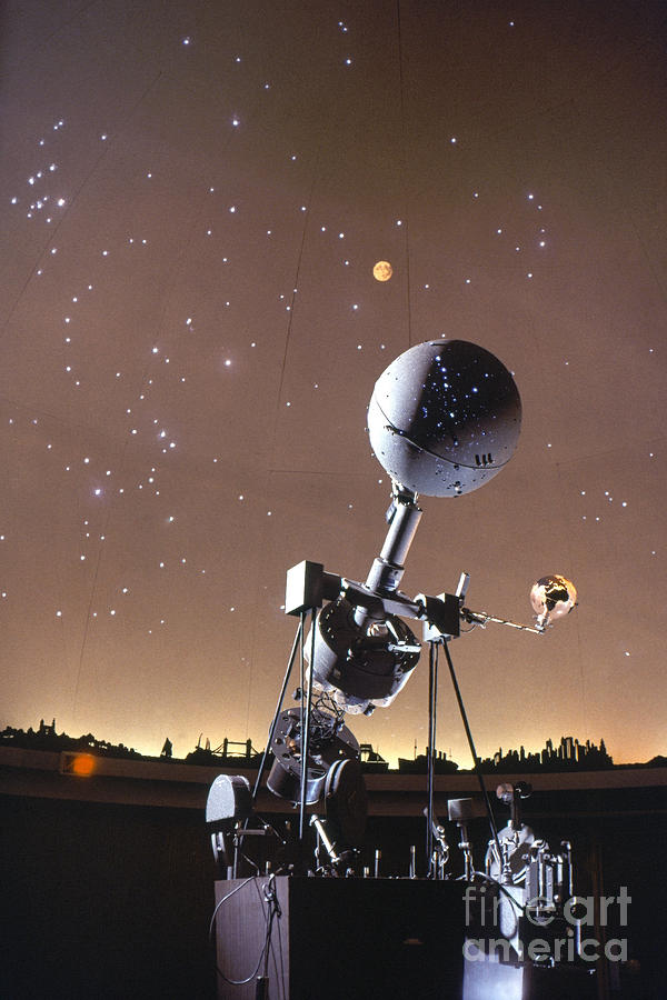 20th Century Photograph - Zeiss Planetarium Projector by Granger