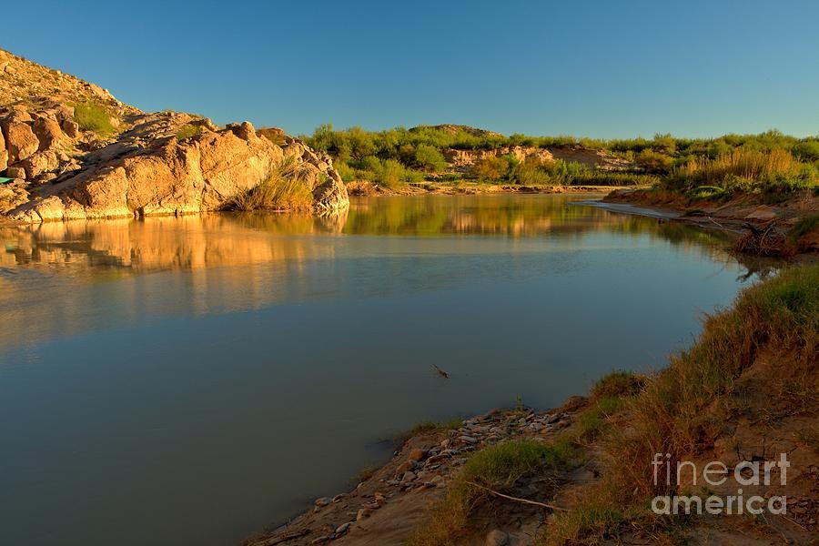 Big Bend Photograph - Zen Along The Rio Grande by Adam Jewell