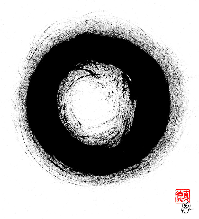 Bodhidharma's Enso by Peter Cutler