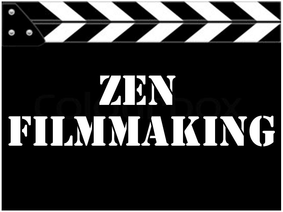 Zen Filmmaking Digital Art - Zen Filmmaking by The Scott Shaw Poster Gallery