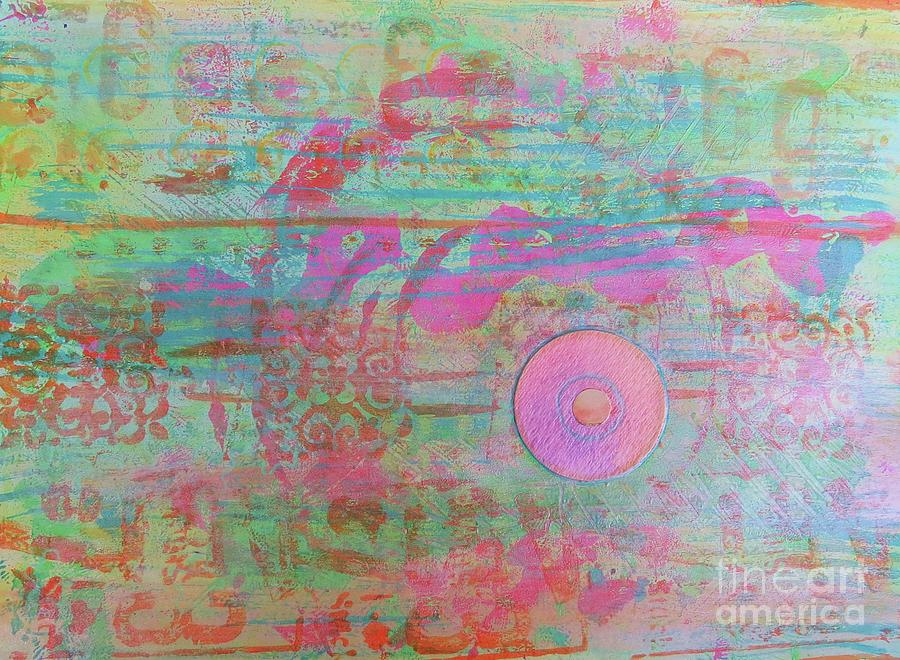 Zen in Pink and Green by Desiree Paquette
