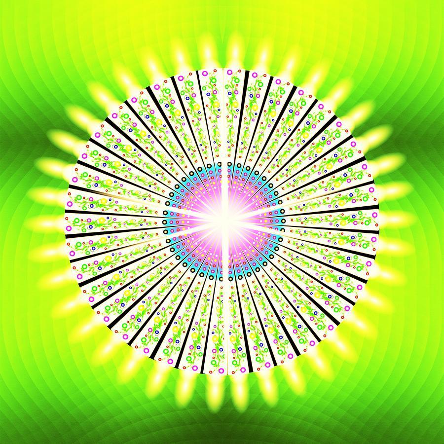 Zen Digital Art - Zen Light by The Awakening Art