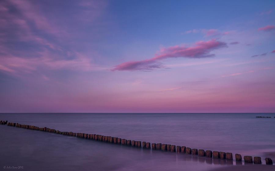 Zen Mood Seascape Photograph