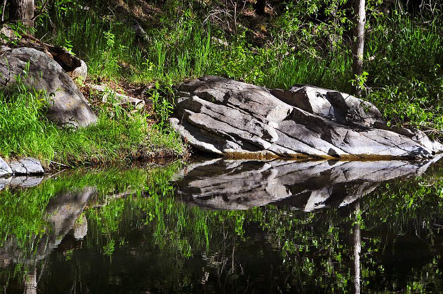 Zen Pool Photograph - Zen Pool by Skip Hunt
