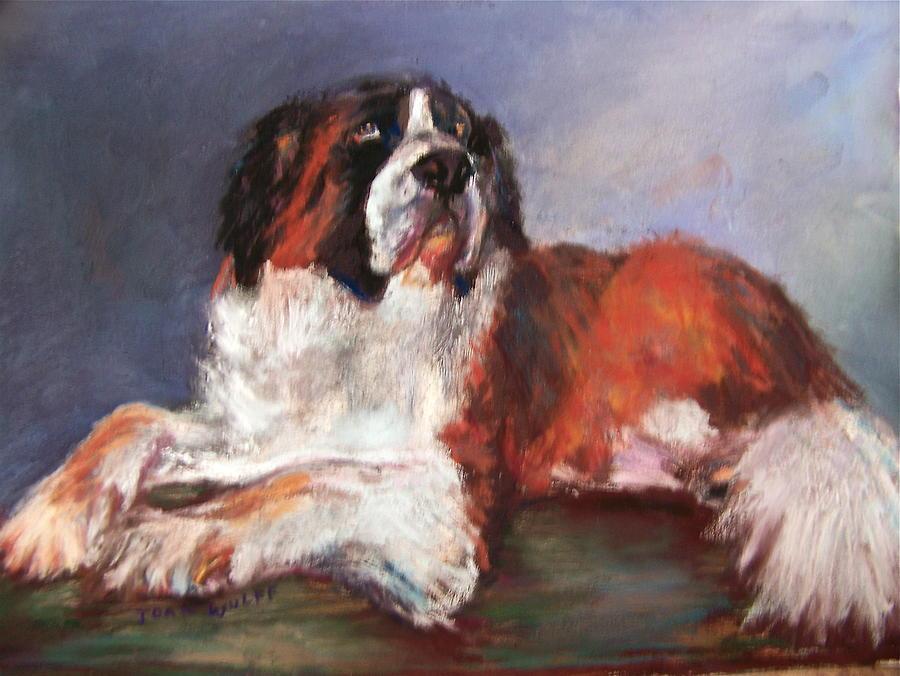 Dog Pastel - Zena by Joan Wulff