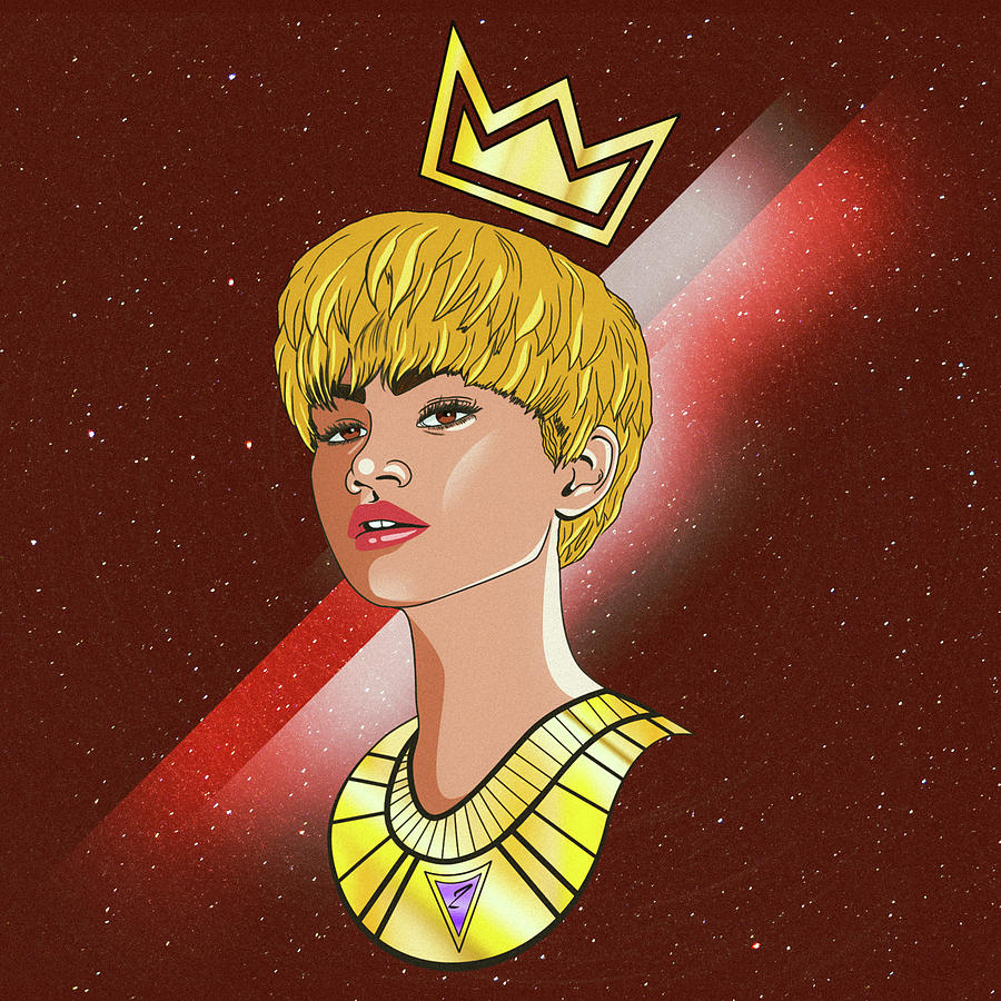 Zendaya Drawing Illustration  Digital Art by Kenal Louis