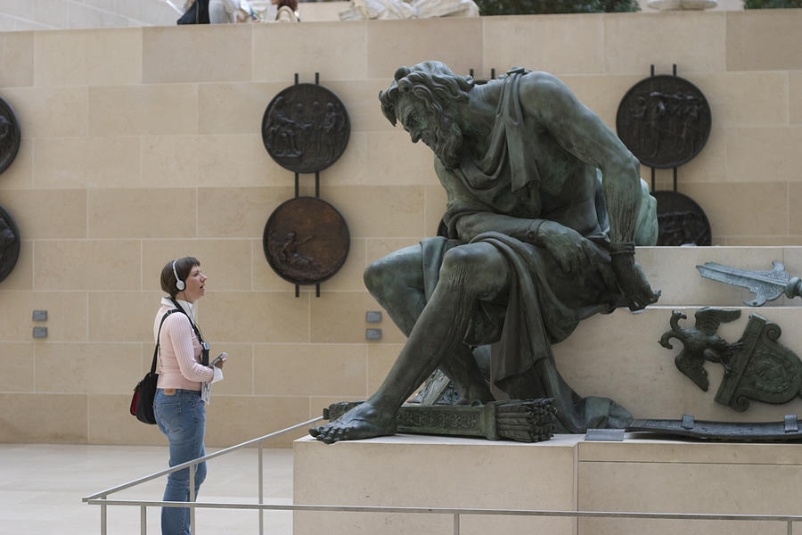 God Photograph - Zeus Confronts Woman by Carl Purcell