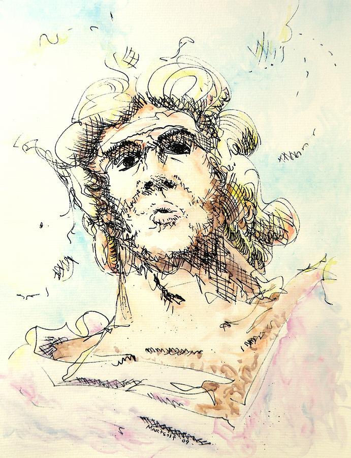 Zeus Painting - Zeus by Dave Martsolf