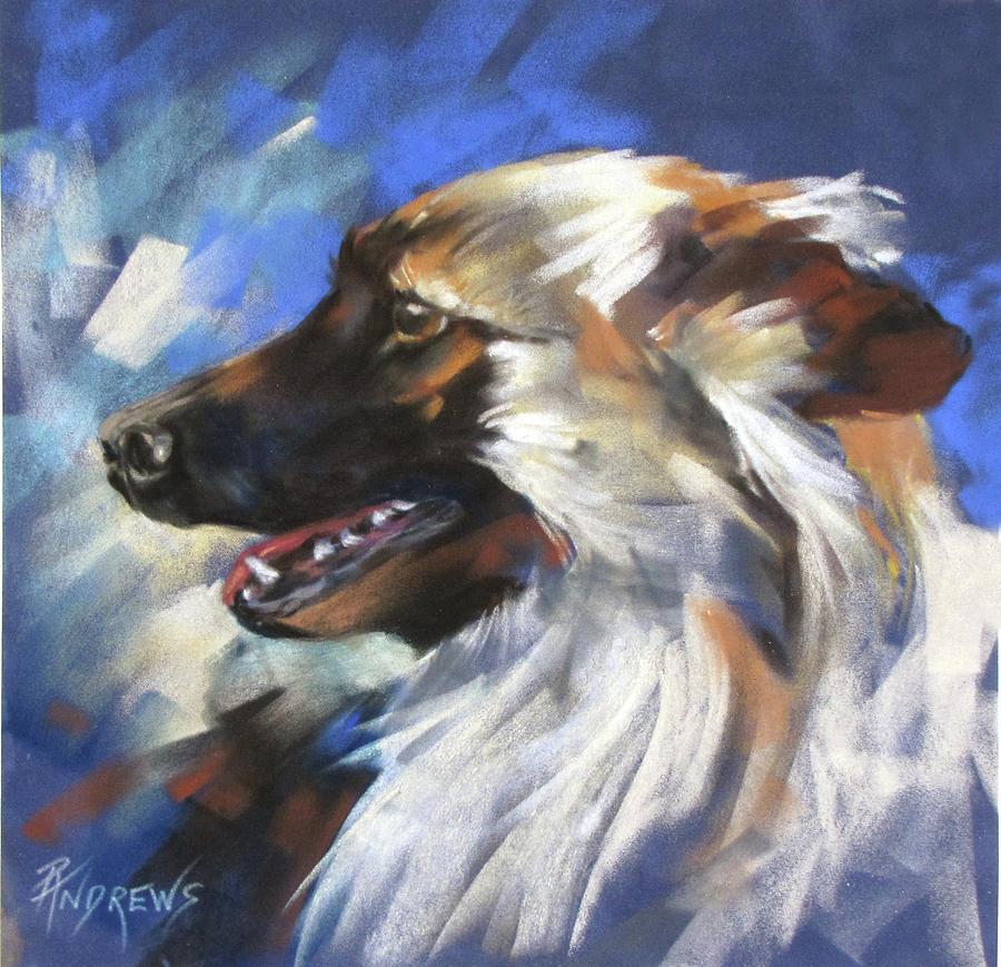 Pastel Painting - Zeus by Rae Andrews