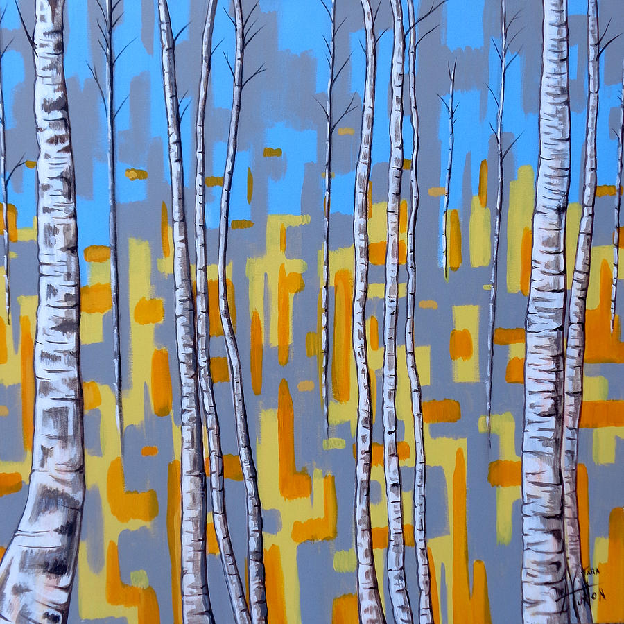 Abstract Painting - Zhivago by Tara Hutton