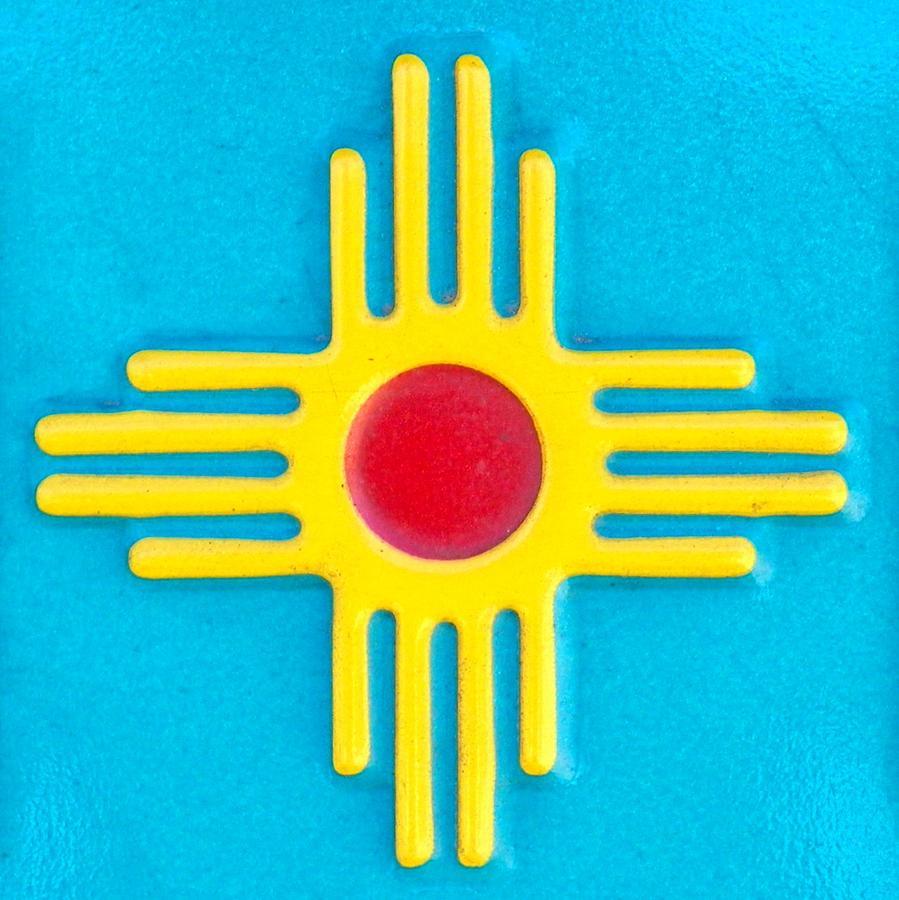 Zia Sun God Symbol Photograph By Loring Laven