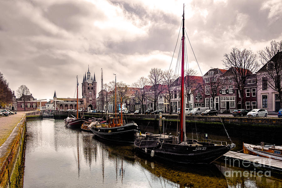 Zierikzee Zuidhavenpoort Photograph