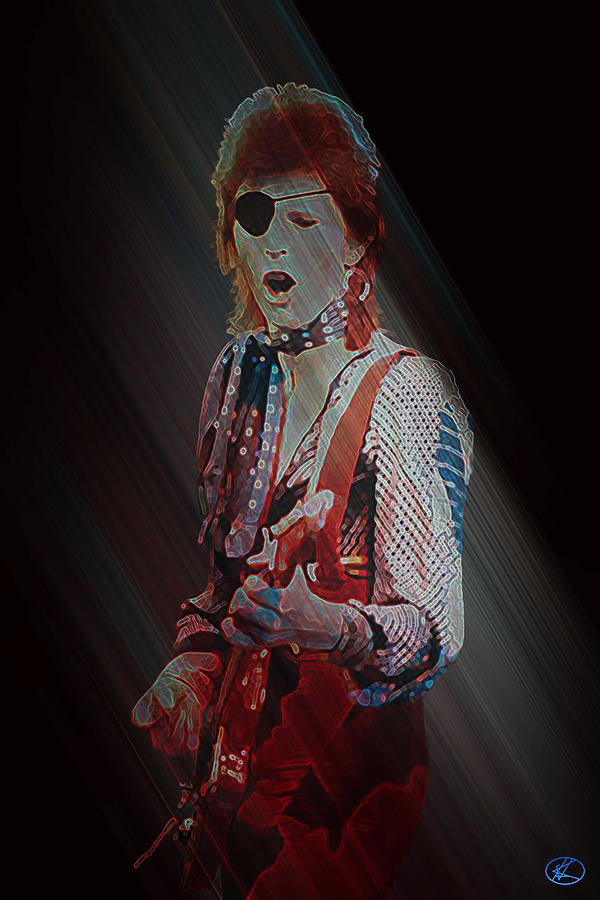 Ziggy Played Guitar by Kenneth Armand Johnson