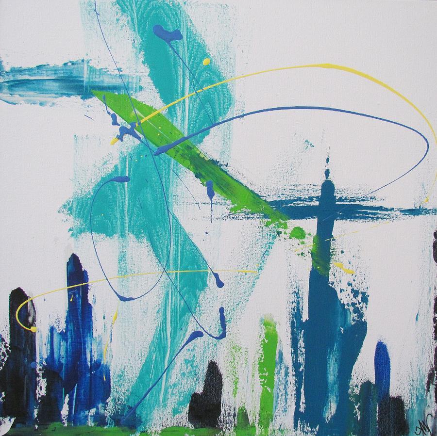 Zigzag Cityscape by Mandy Joy