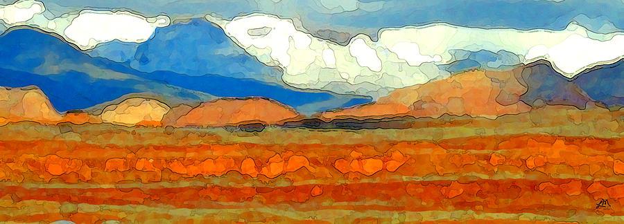 Landscape Digital Art - Zion Exposed by Linda Mears