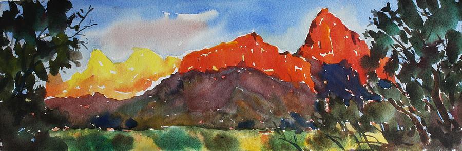 Owen Hunt Painting - Zion Fields by Owen Hunt