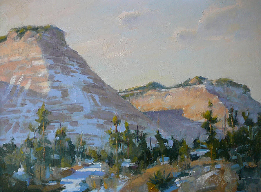 Zion National Park Painting - Zion National Park by Frank LaLumia
