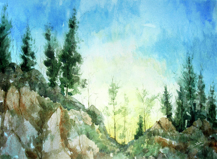 Stephen Boyle Painting - Zion by Stephen Boyle