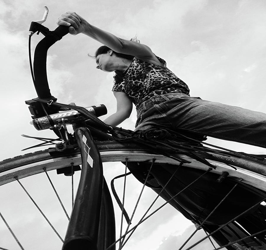 Bike Photograph - Zlatina by Emil Bodourov