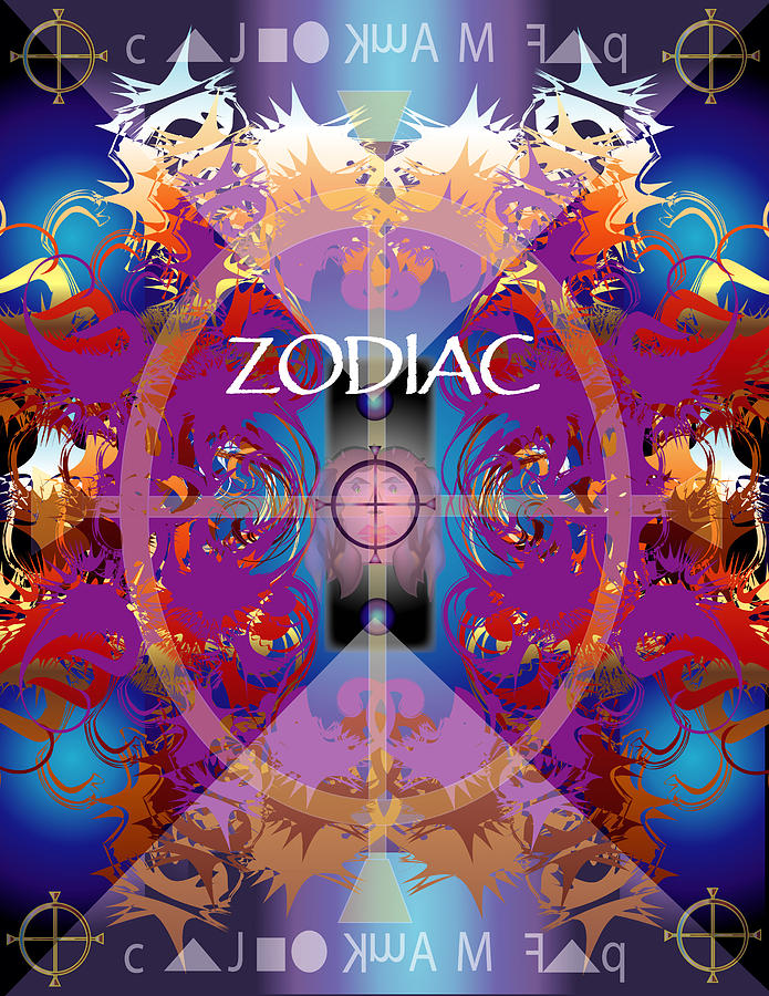Fantasy Digital Art - Zodiac 2 by George Pasini